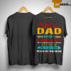 The Best Kind Of Dad Raises A Stubborn Daughter I'm The Lucky One Shirt