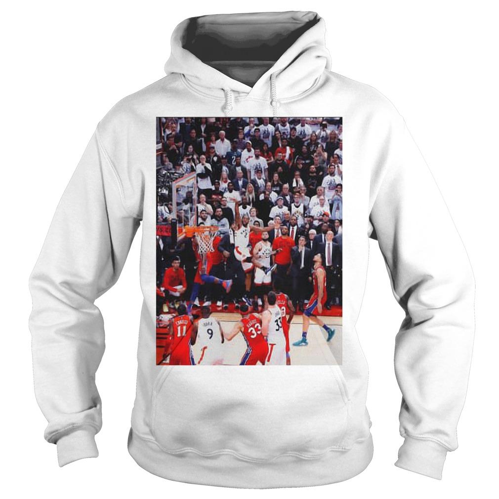 Toronto Raptors Kawhi Leonard Game Winner Hoodie