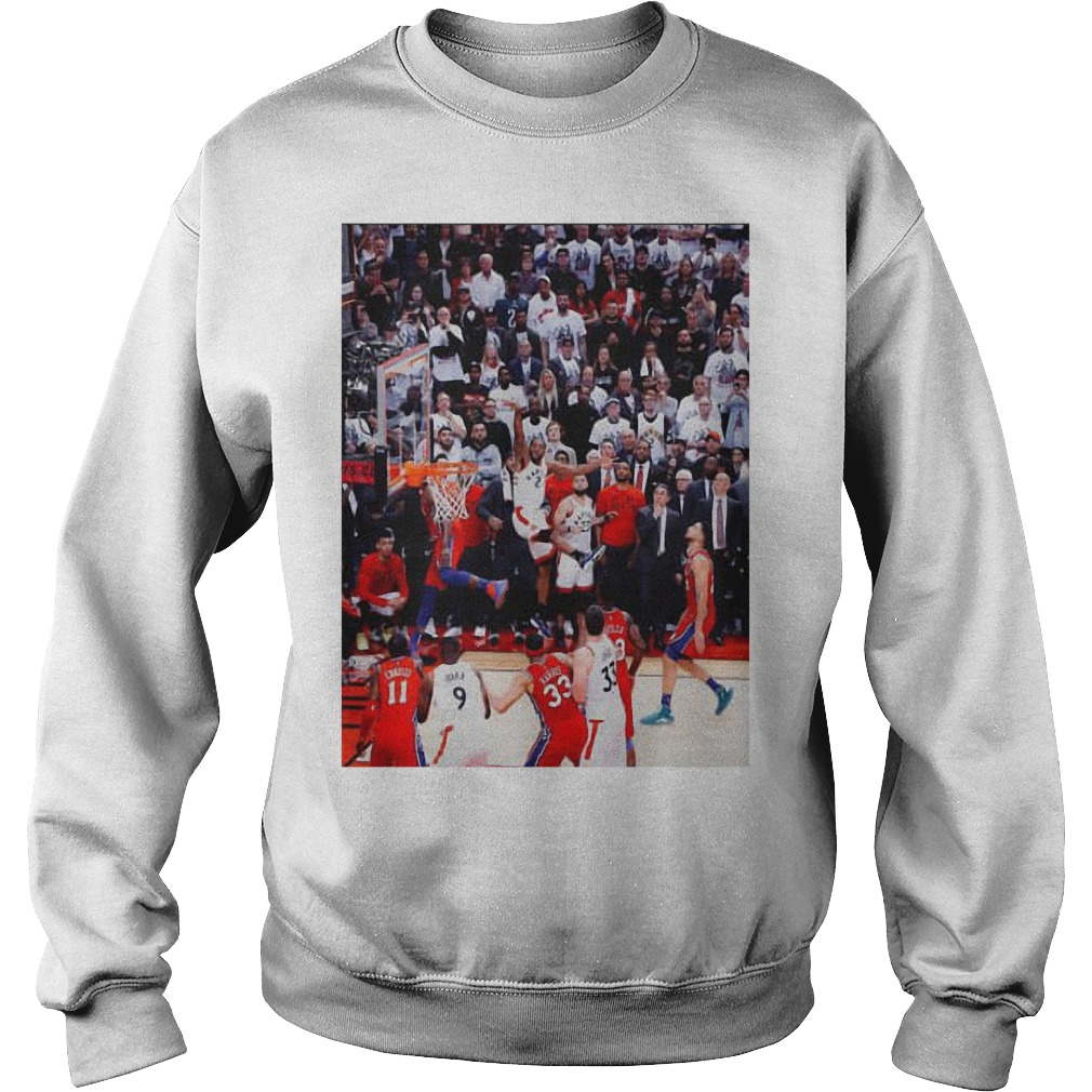 Toronto Raptors Kawhi Leonard Game Winner Sweater