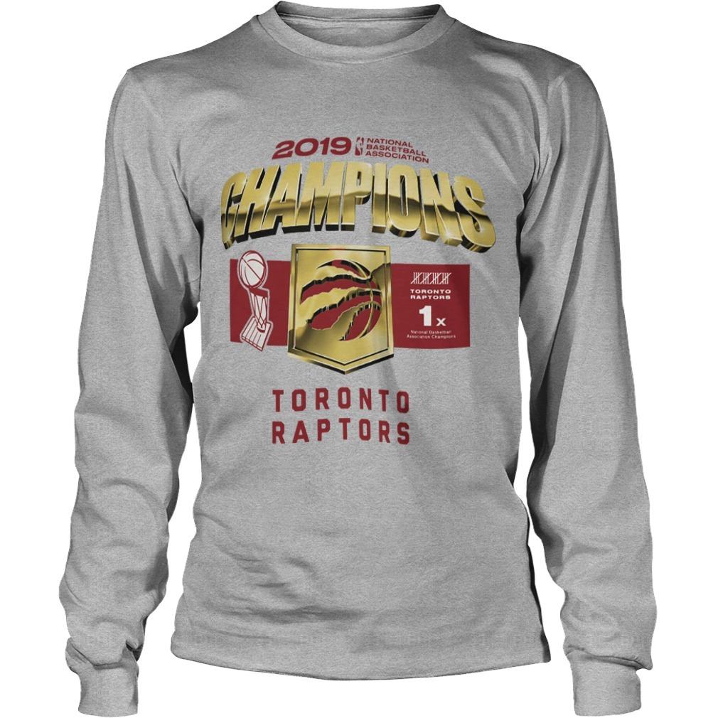 Toronto Raptors Owl Champs Long Sleeve Tee