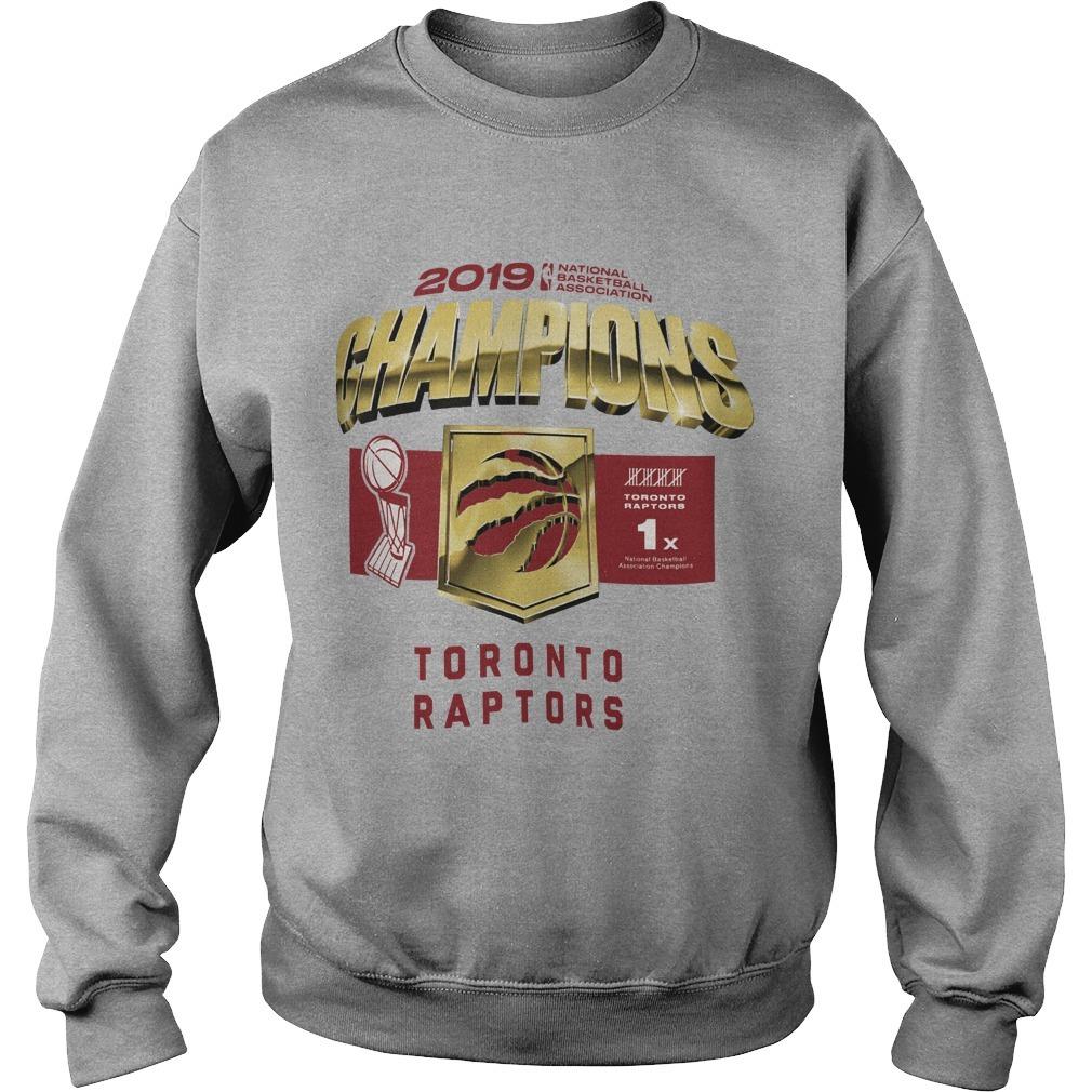 Toronto Raptors Owl Champs Sweater