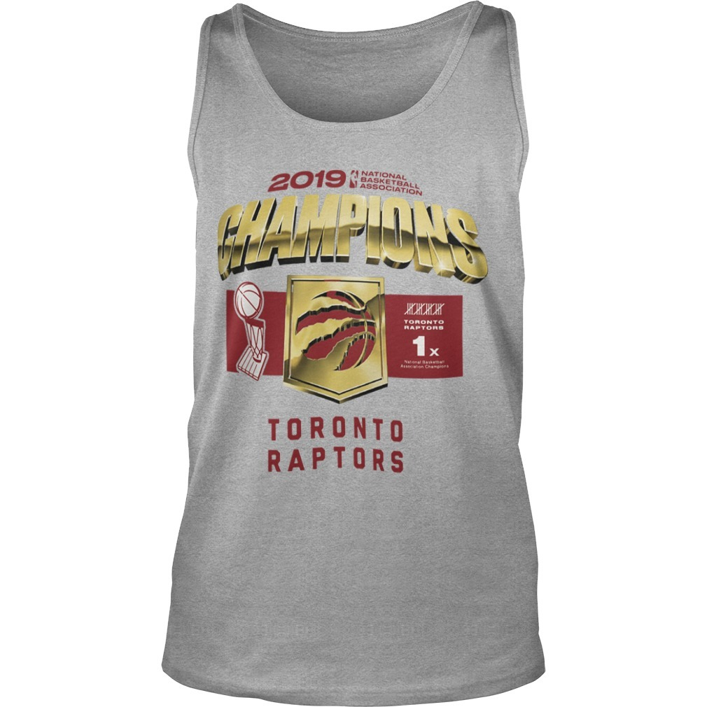 Toronto Raptors Owl Champs Tank Top