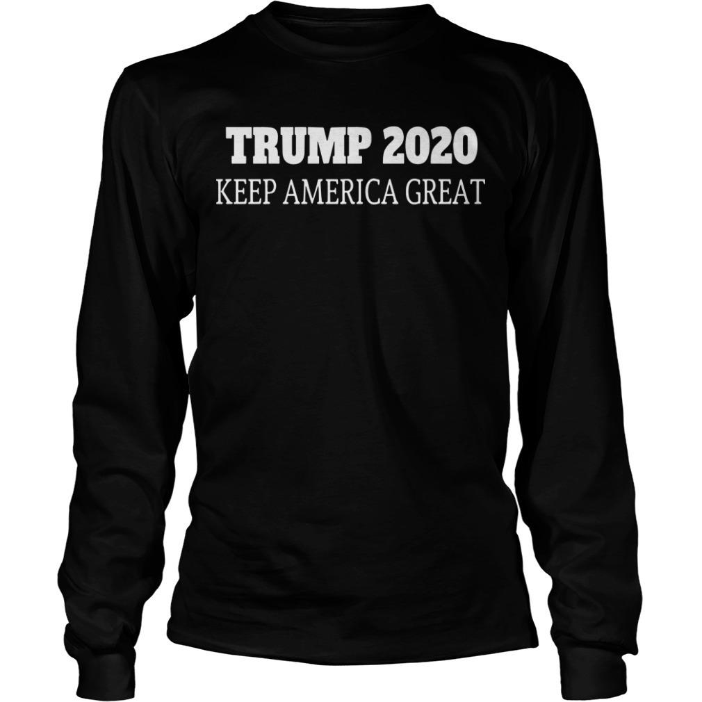 Trump 2020 Keep America Great Longsleeve Tee