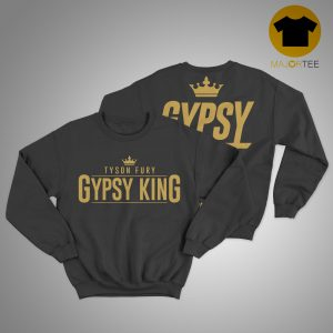 Tyson Fury Gypsy King Return Of The Mack Sweater