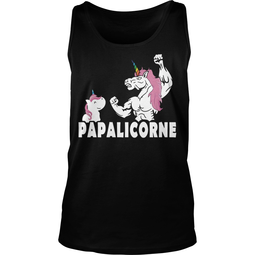 Unicorn Papalicorne Tank Top