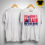 Uss John Mccain T Shirt