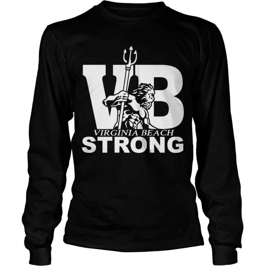 Vb Strong Virginia Beach Strong Long SLeeve Tee