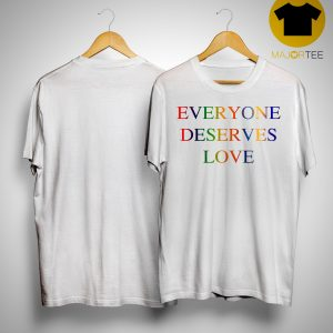 Victoria Beckham Everyone Deserves Love T Shirt
