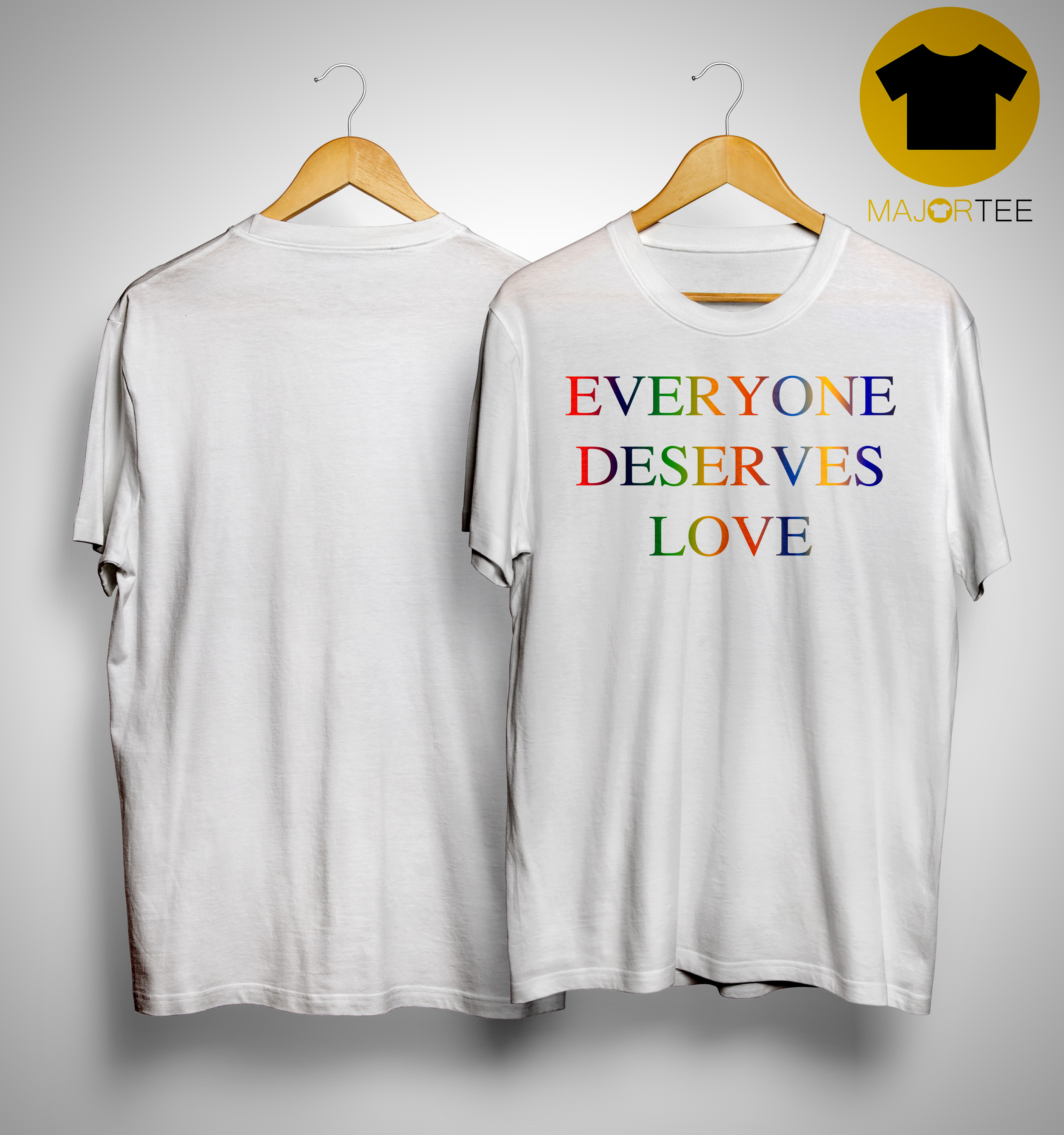 in stock cfcfc 974f1 Victoria Beckham Everyone Deserves Love T Shirt