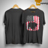Vintage American Flag 4th Of July Patriotic Panda Bear Shirt