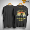 Vintage Daddy's Bowfishing Buddy Father Day Shirt