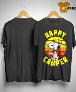 Vintage Peanuts Snoopy Happy Camper Shirt