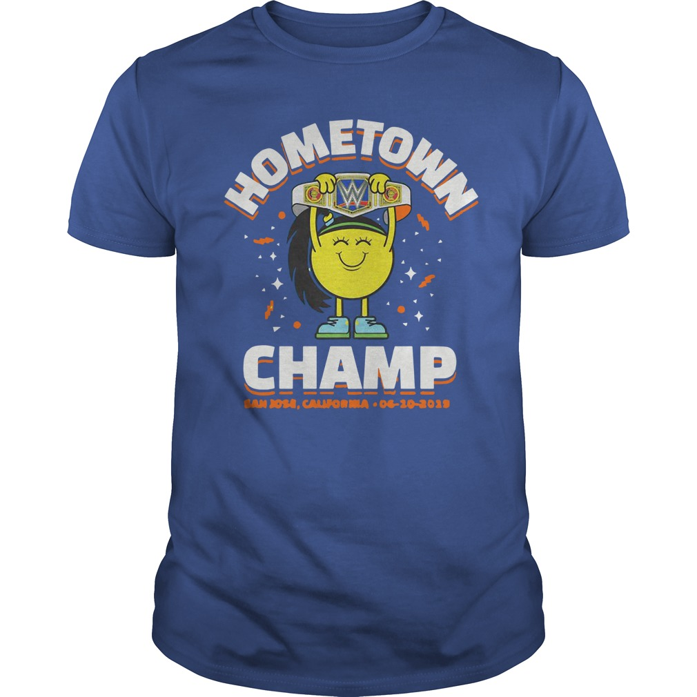 WWE Smackdown House Show Bayley Hometown Champ Shirt