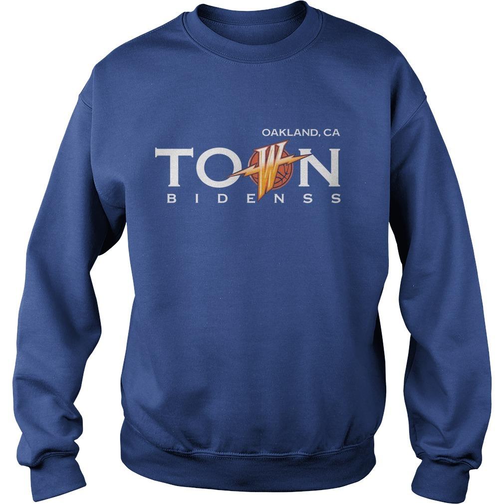 Warriors Damion Lee Oak Land Town Sweater