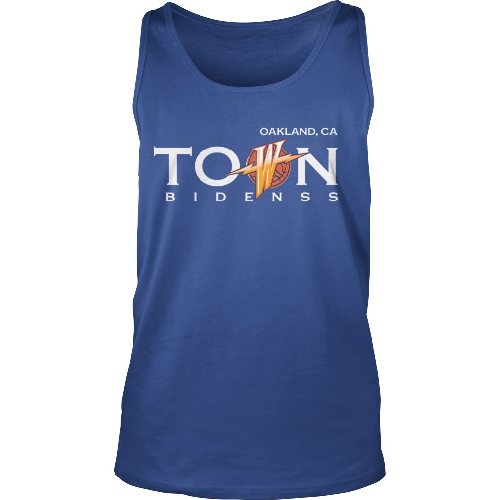 Warriors Damion Lee Oak Land Town TankTop