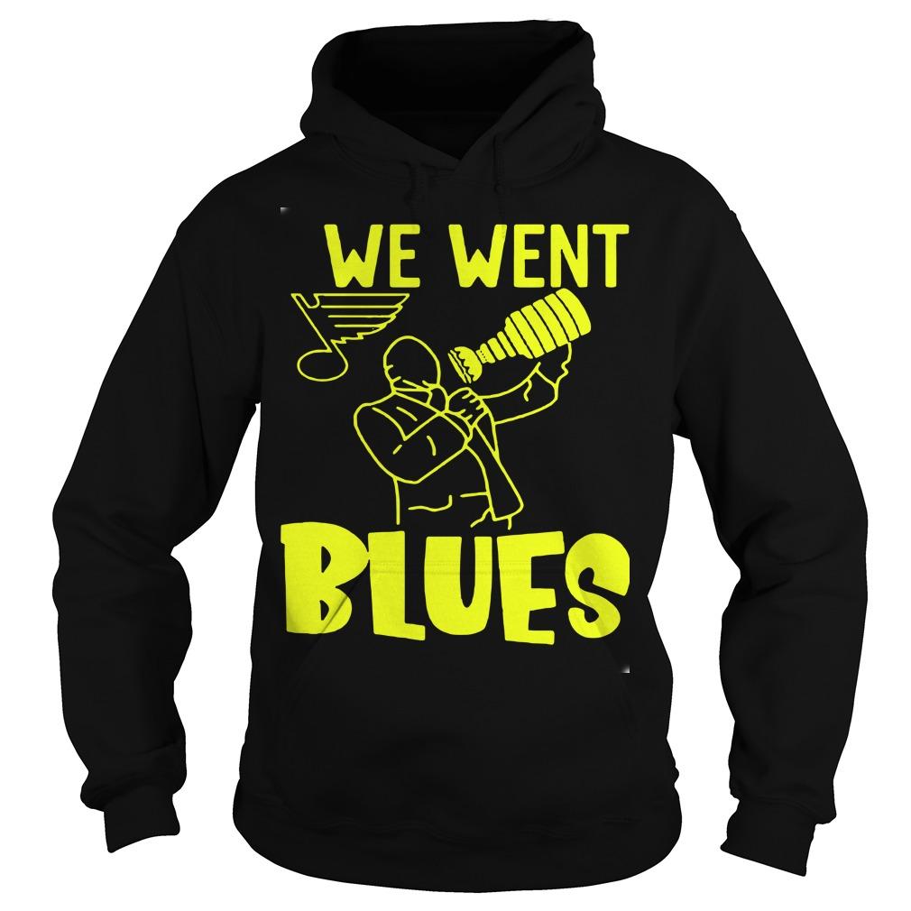 We Went Blues Hoodie