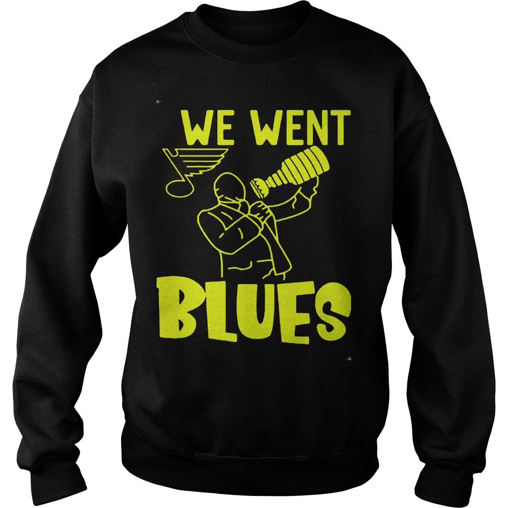 We Went Blues Sweater