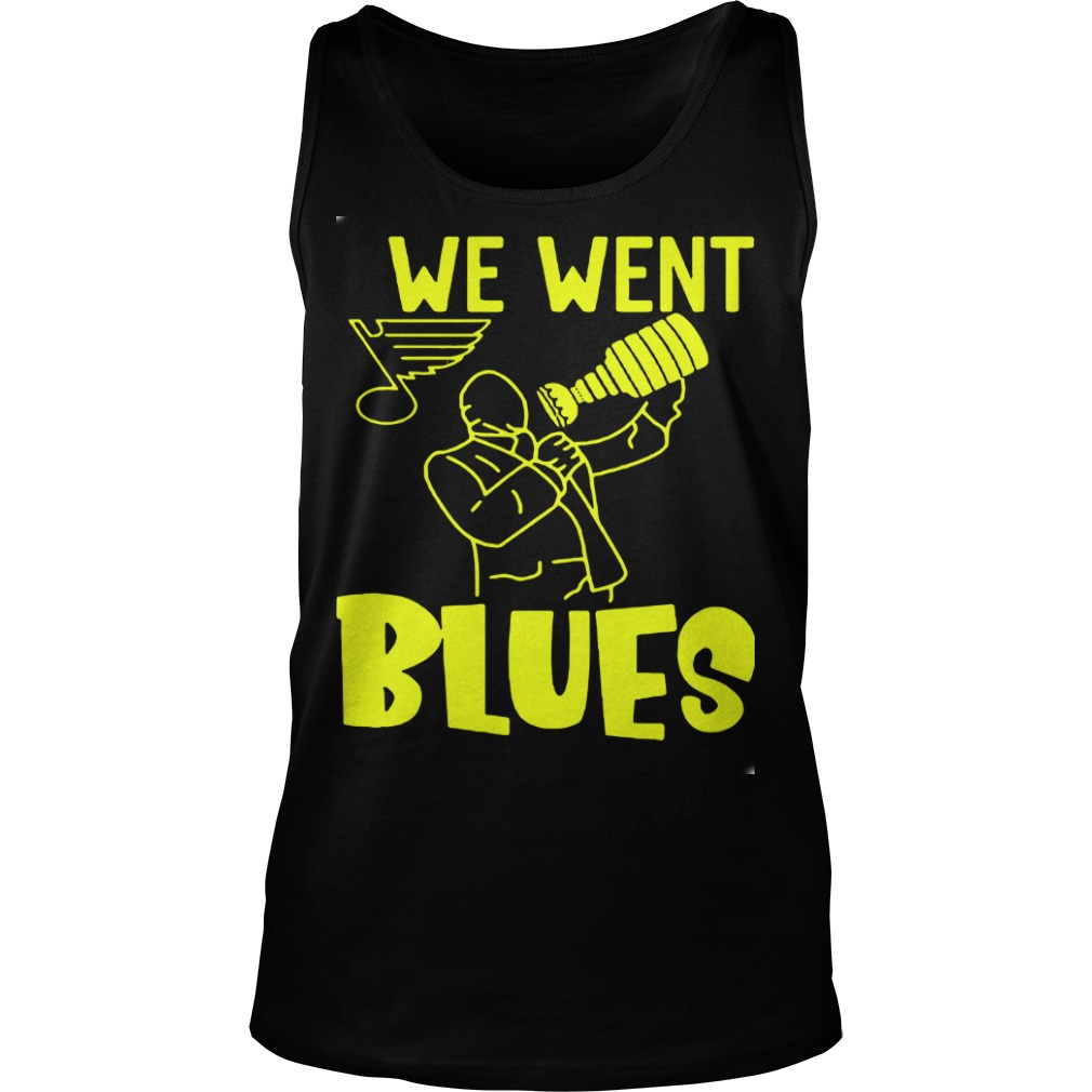 We Went Blues Tank Top