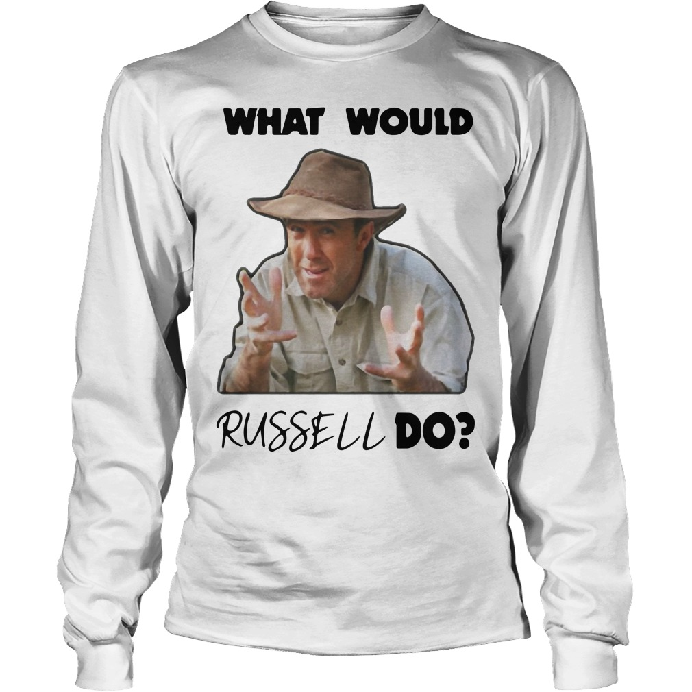What Would Russell Do Longsleeve Tee
