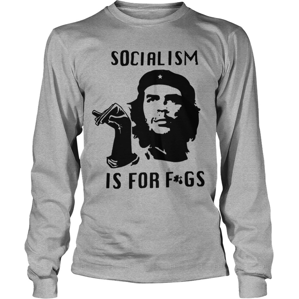 Youtube Steven Crowder Socialism Is For Fags Long Sleeve Tee