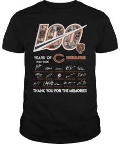 100 Years Of Chicago Bears 1920 2020 Thanks For The Memories