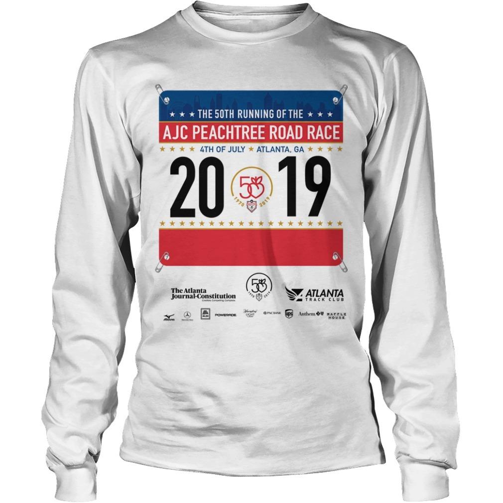 2019 AJC Peachtree Road Race Long SLeeve Tee