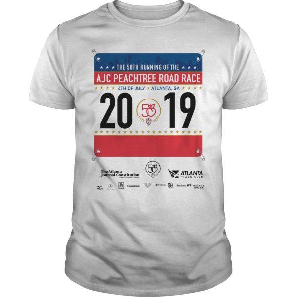 2019 AJC Peachtree Road Race Shirt