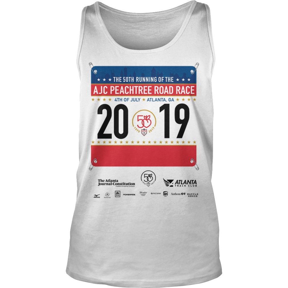 2019 AJC Peachtree Road Race Tank TOp