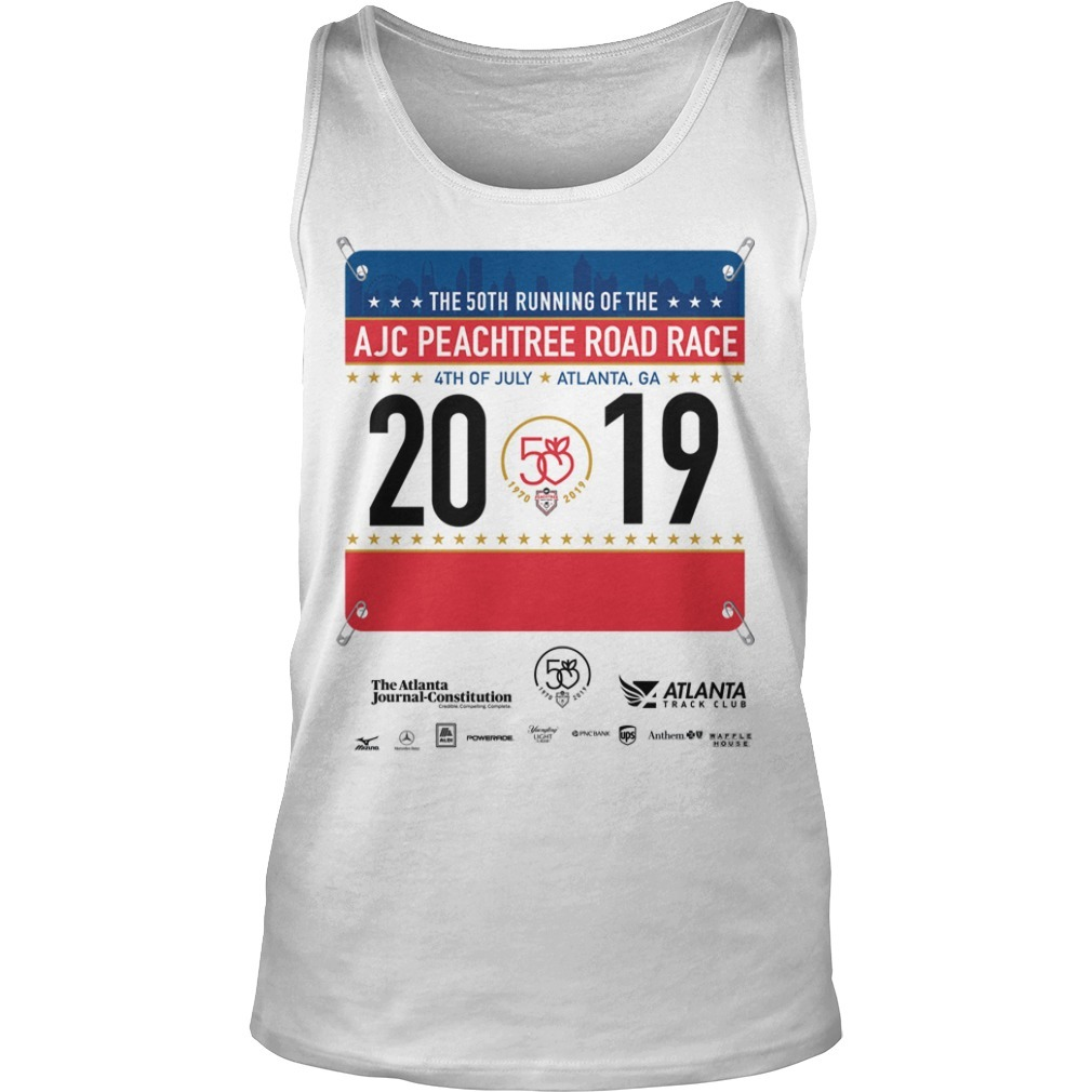 2019 AJC Peachtree Road Race Tank Top
