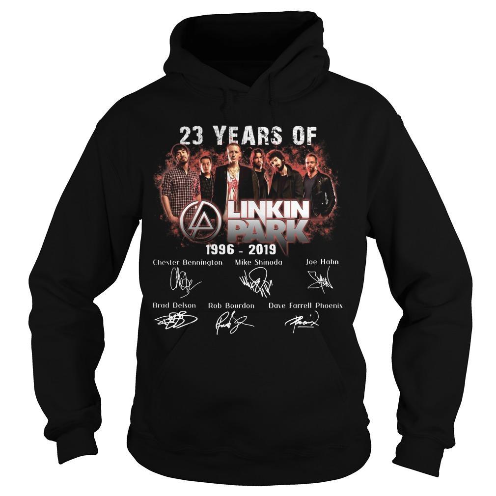 23 Years Of Linkin Park 1996 2019 Hoodie