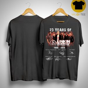 23 Years Of Linkin Park 1996 2019 Shirt