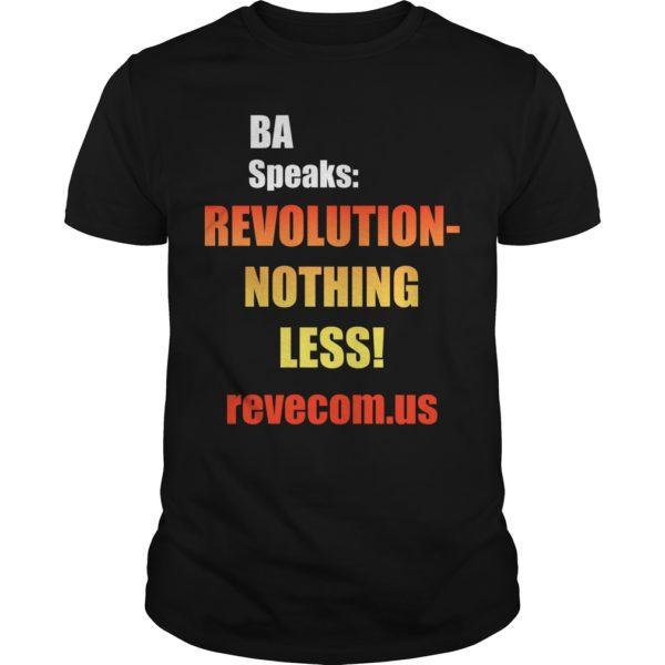 4th Of July American Flag Burning Habla Ba iRevolución Nada Menos Shirt