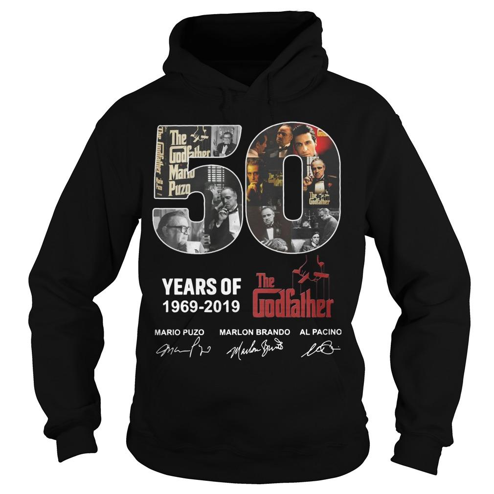 50 Years Of The Godfather 1969 2019 Hoodie