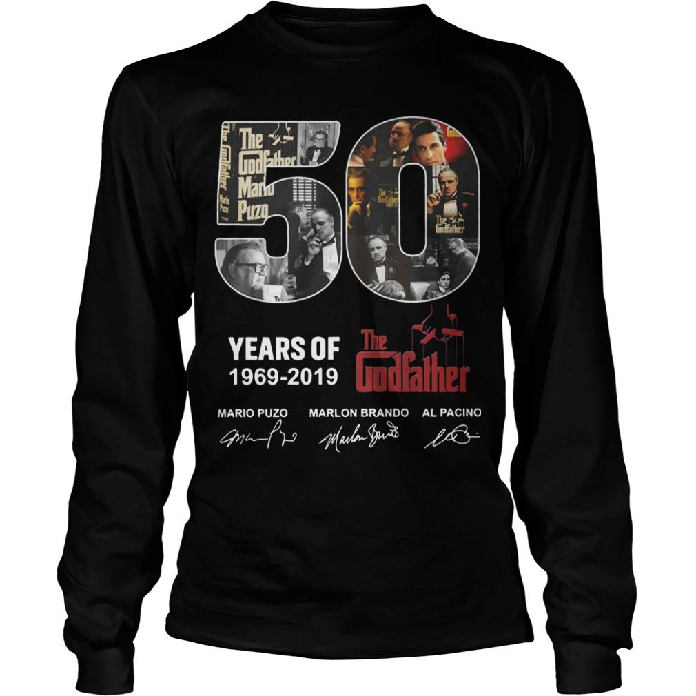 50 Years Of The Godfather 1969 2019 Longsleeve