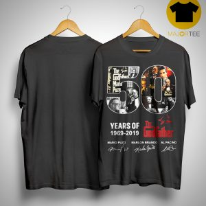 50 Years Of The Godfather 1969 2019 Shirt