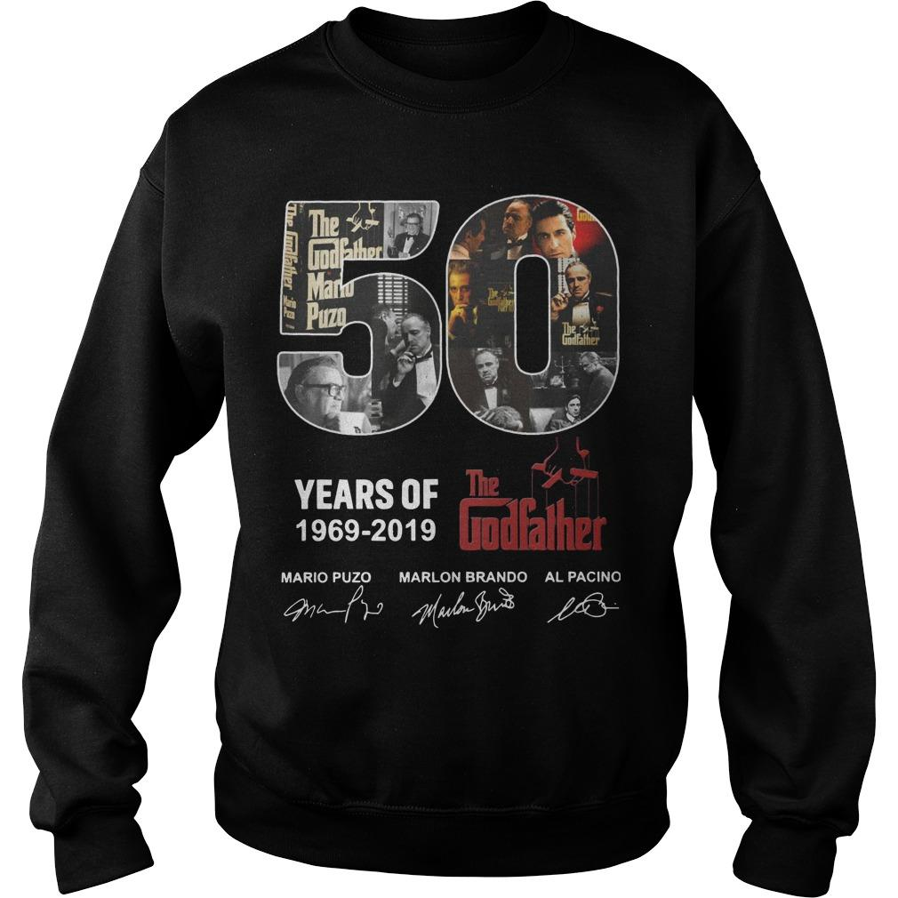 50 Years Of The Godfather 1969 2019 Sweater