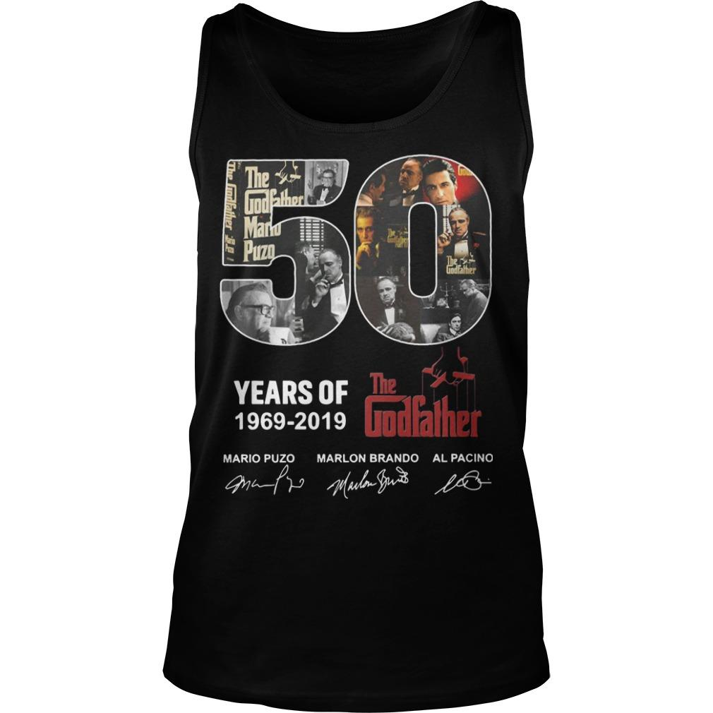 50 Years Of The Godfather 1969 2019 Tank Top