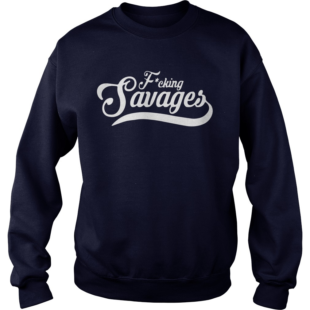 Aaron Boone Fucking Savages Sweater