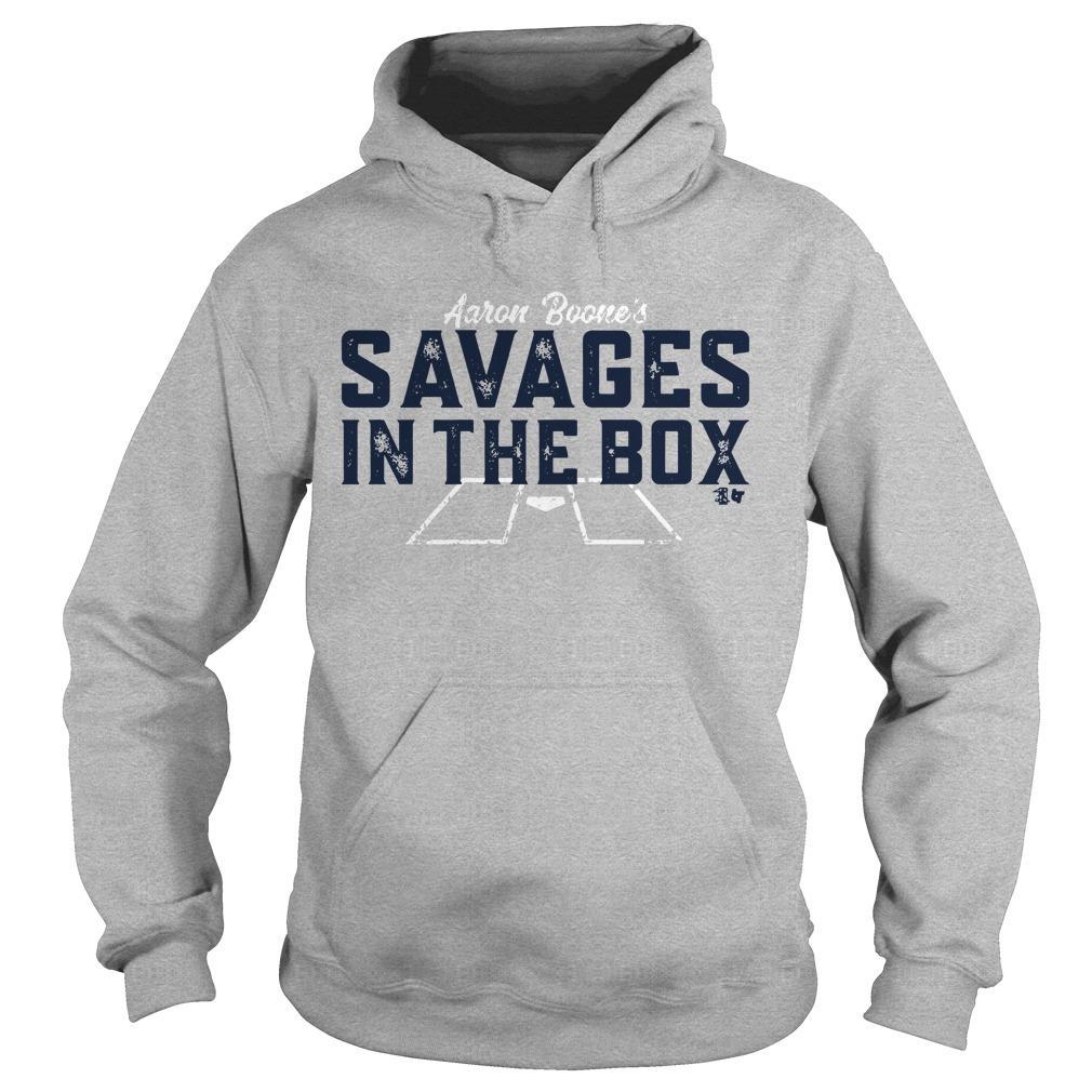 Aaron Boone Savages T Hoodie