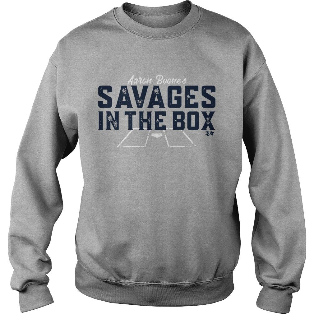 Aaron Boone Savages T Sweater