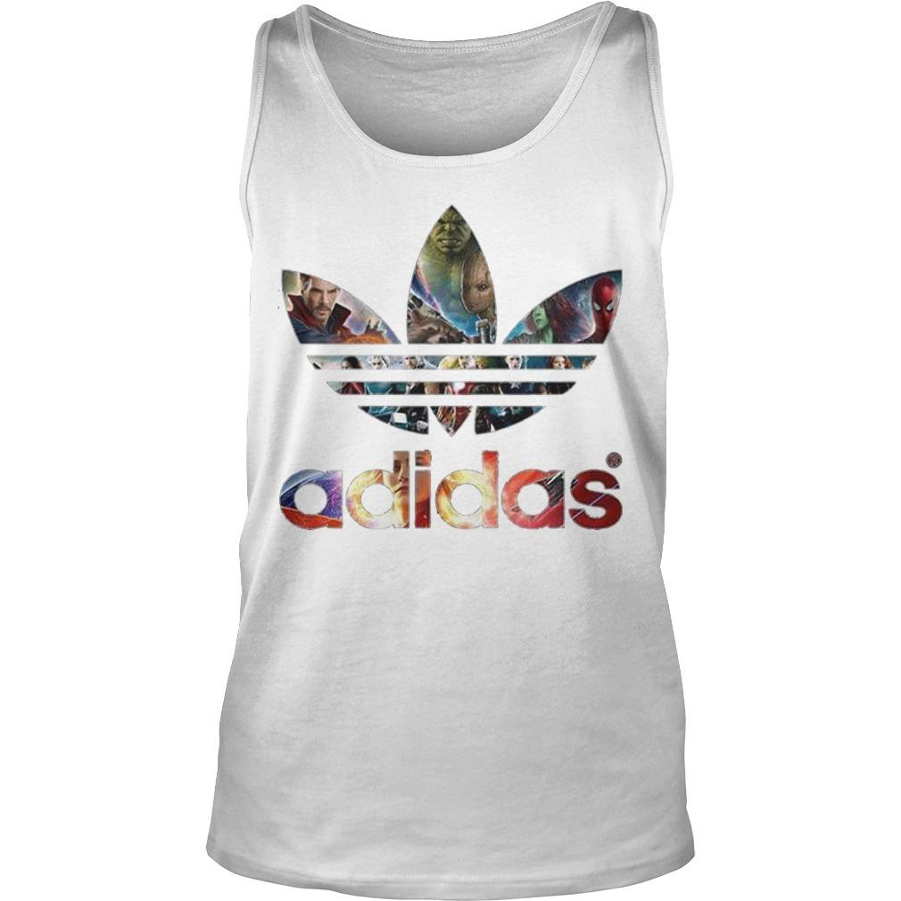 Adidas Avengers Marvel All Characters Tank Top