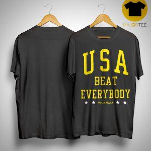 Alex Morgan USA Beat Everybody Shirt