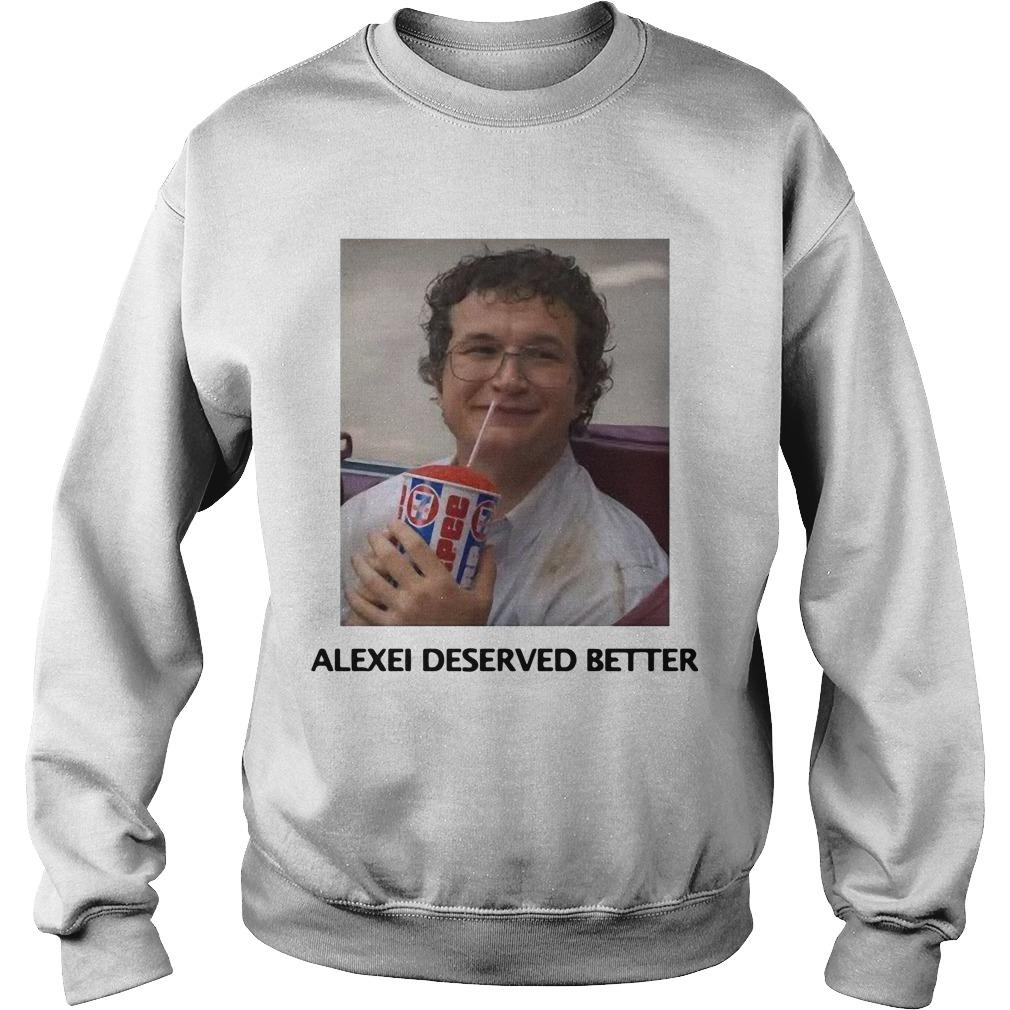Alexei Stranger Things Sweater