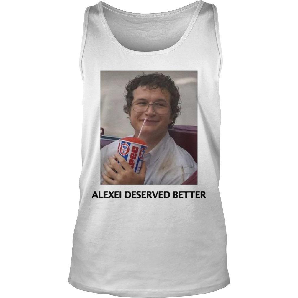 Alexei Stranger Things Tank Top