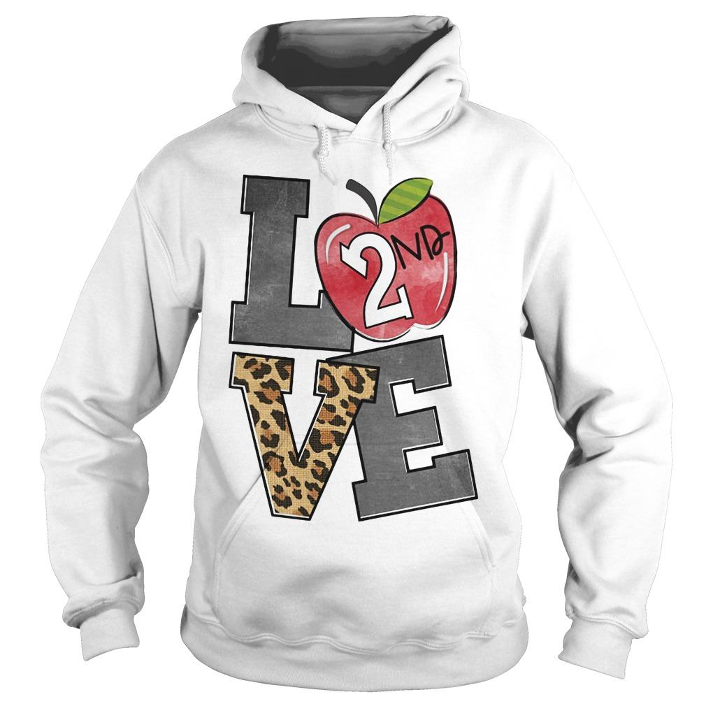 Apple 2nd Grade Love Hoodie