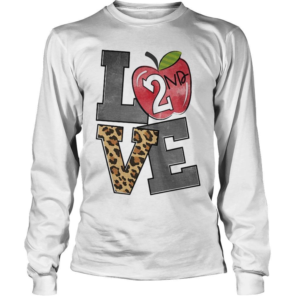 Apple 2nd Grade Love Longsleeve