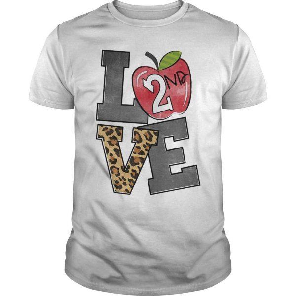 Apple 2nd Grade Love Shirt