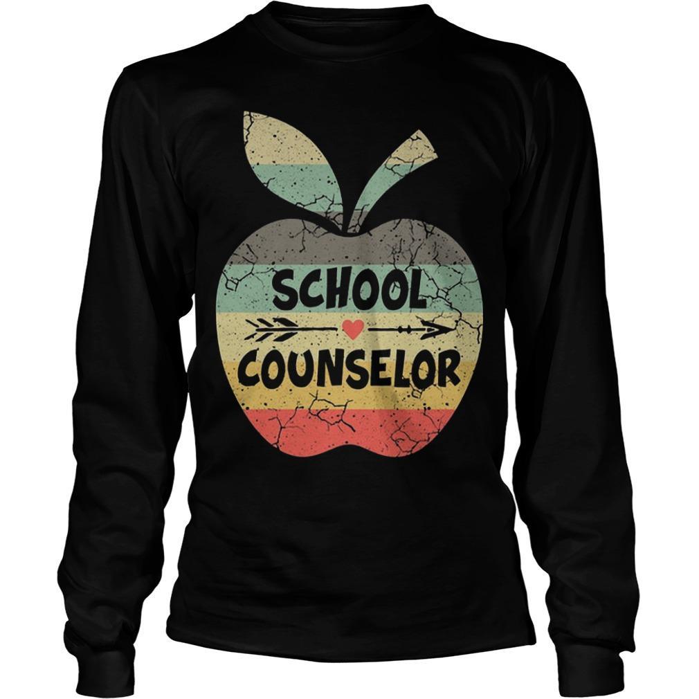 Apple School Counselor Longsleeve