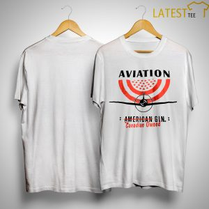 Aviation American Gin Canadian Owned Shirt