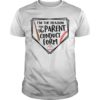 Baseball I'm The Reason For The Parent Conduct Form Shirt